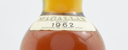 Macallan 1962 Label