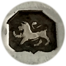 Here is the standard mark - it is a lion passant.  If your item does not have this mark it is unlikely to be silver.