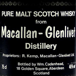 Macallan Whisky Worth