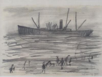 Original LS Lowry Drawing