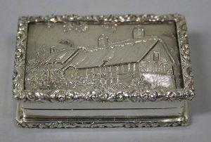 Anne Hathaway's cottage silver
