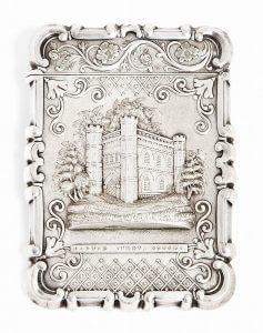 Battle Abbey silver
