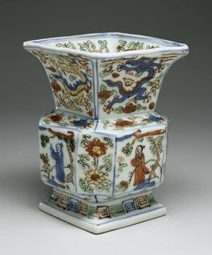 Chinese works of art must be sold by specialist auctioneers to ensure they are marketed correctly.