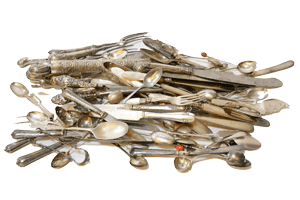 A Guide To Silver Cutlery And Its Value - Auctions & Private