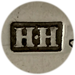 This is the maker's mark for Henry Holland (of Holland, Aldwinckle