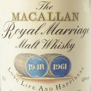 Macallan Royal Marriage Worth