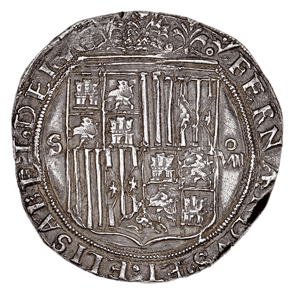 Spanish 8 Reales Coin