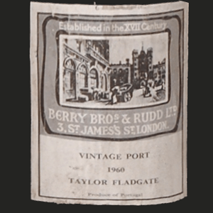 Taylors Port Labels