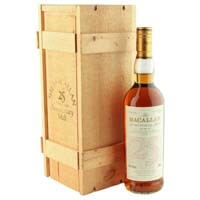 Macallan 1966 25 Year Old Anniversary Malt