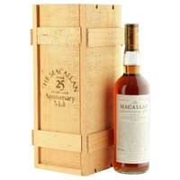 Macallan 1970 25 Year Old Anniversary Malt